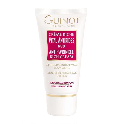 Guinot Rich Anti-Wrinkle Cream 888 Priešraukšklinis kremas sausai odai 50ml