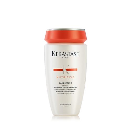 Kerastase Bain Satin 1 Maitinantis šampūnas normaliems plaukams 250ml