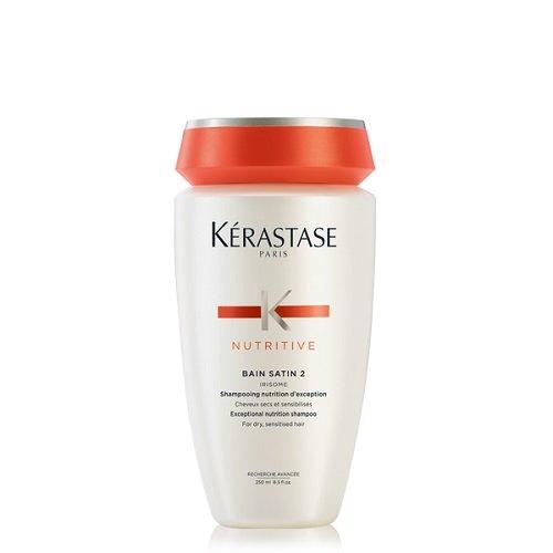 Kerastase Bain Satin 2 Maitinantis šampūnas, skirtas sausiems ir jautriems plaukams  250ml