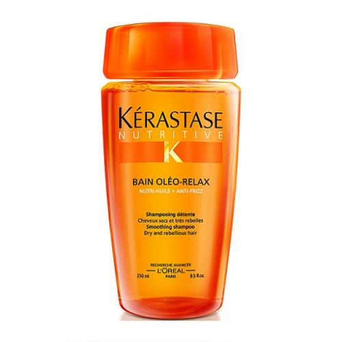 Kerastase Nutritive Bain Oleo-Relax Sausų ir nepaklusnių plaukų šampūnas 250ml