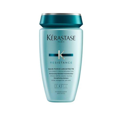 Kerastase Resistance Bain de Force Architecte Pažeistų plaukų šampūnas  250ml