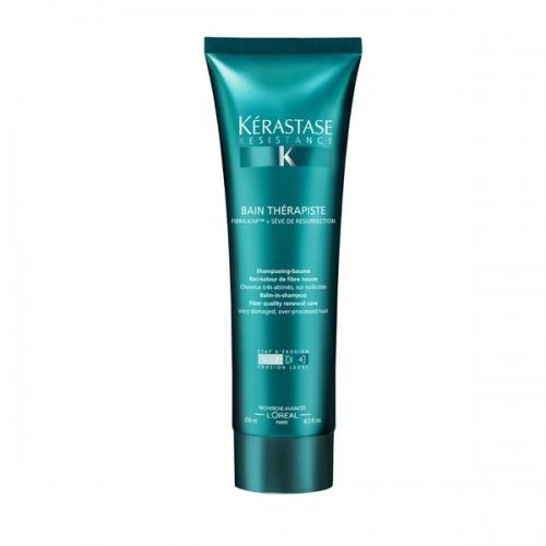 Kerastase Resistance Bain Therapiste Atkuriamasis plaukų šampūnas  250ml