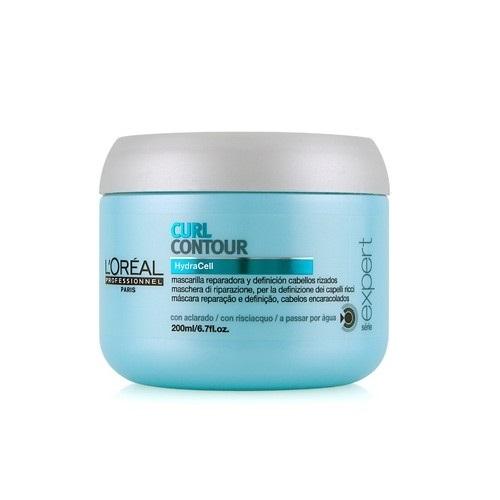 L'Oreal Professionnel Curl Contour kaukė garbanotiems plaukams 200ml maitina, drėkina, atkuria plaukų struktūrą, suteikia garbanoms švelnumo ir žvilgesio.