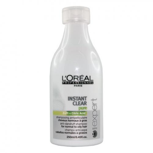 L'Oréal Professionnel Instant Clear Pure Valomasis normalių ir riebių plaukų šampūnas nuo pleiskanų 250ml