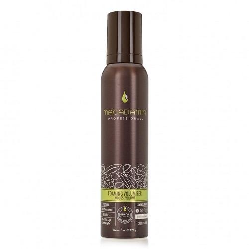 Macadamia Foaming Volumizer apimties suteikiančios putos plaukams  180ml