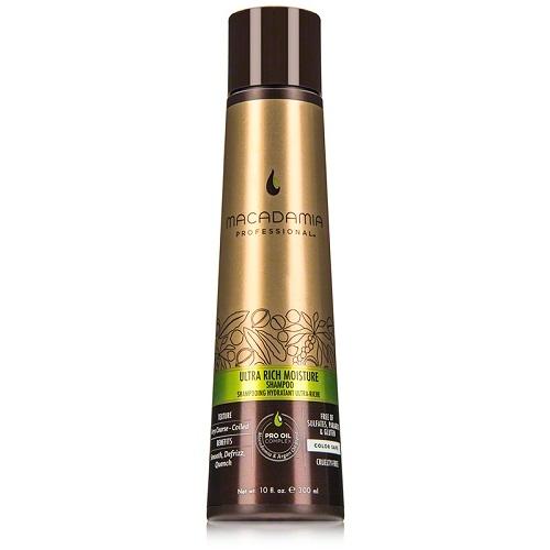 Macadamia Ultra Rich Moisture Shampoo Ypač drėkinantis šampūnas sausiems pažeistiems plaukams  300ml
