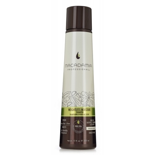 Macadamia Weightless Moisture Shampoo Neapsunkinantis plaukų drėkinamasis šampūnas  300ml