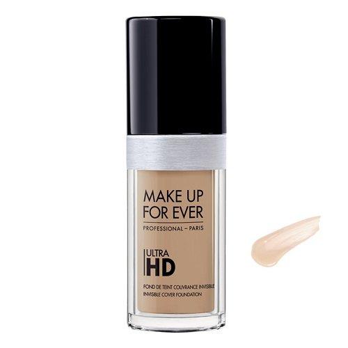 Make Up For Ever Ultra HD Makiažo pagrindas (Y245 Soft sand) 30ml