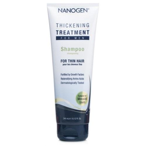 Nanogen Slenkančių plaukų šampūnas vyrams  240ml