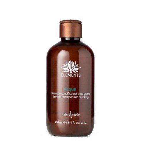 Naturalmente Acqua - Vanduo. Aktyvusis serumas ir valomasis šampūnas 250ml