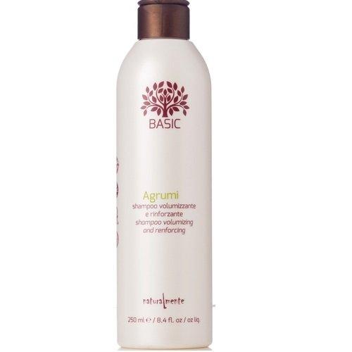Naturalmente AG agrumi Apimties suteikiantis/stiprinantis šampūnas 250ml