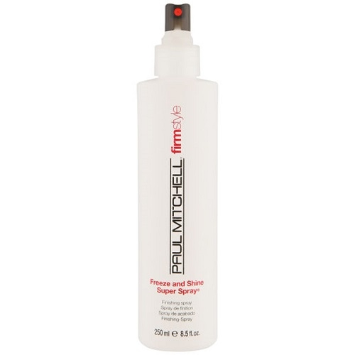 Paul Mitchell Freeze and Shine Super Spray Stiprios fiksacijos lakas, be dujų 250ml