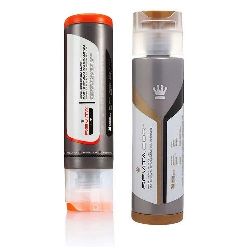 DS Laboratories Plaukų augimą skatinantis šampūnas ir kondicionierius Revita.LT+Revita.COR