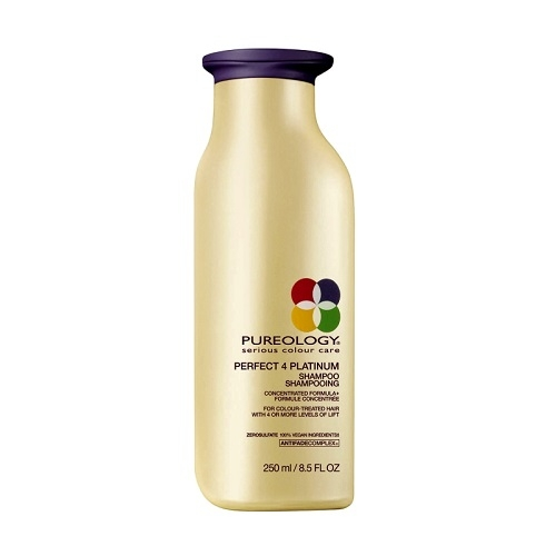 Pureology  Perfect 4 Platinum Šviesintų plaukų šampūnas  250ml