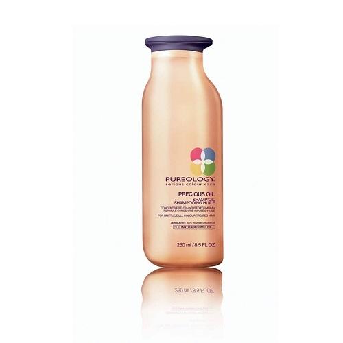 Pureology  Precious Oil Pažeistų plaukų šampūnas  250ml