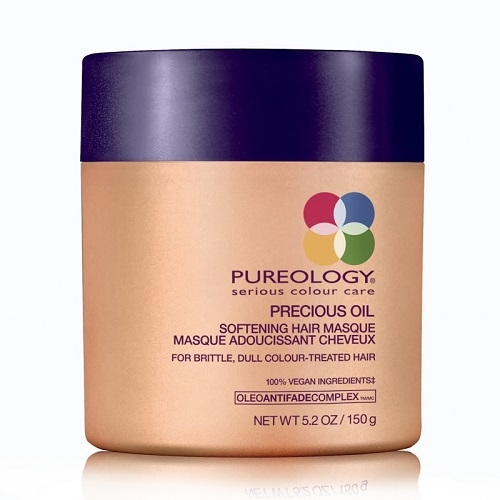 Pureology  Precious Oil Softening Pažeistų plaukų kaukė  150ml