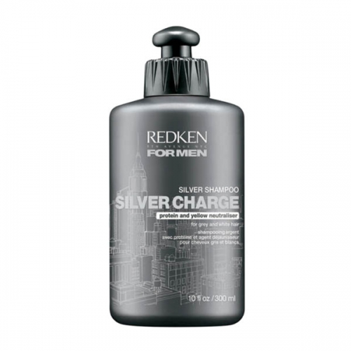 Redken For Men Silver Charge Plaukų šampūnas vyrams 300ml