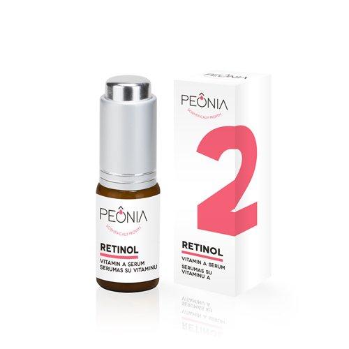 Peonia Retinolis (0,6%) - Serumas su Vitaminu A 15ml