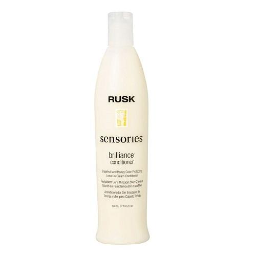 Rusk Brilliance Nenuplaunamas plaukų spalvą išsaugantis kondicionierius 400ml
