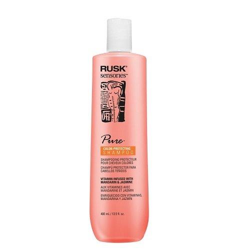 Rusk Pure Plaukų spalvą paryškinantis šampūnas 400ml