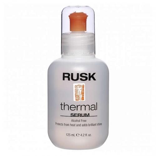 Rusk Thermal Žvilgesį suteikiantis ir plaukus apsaugantis serumas 125ml