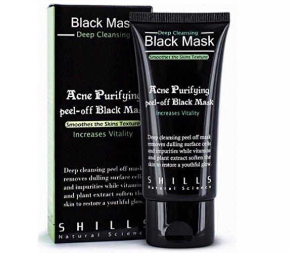 Shills Puryifying Peel Off Mask Juoda giliai valanti anglies kaukė 50ml