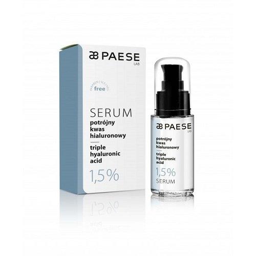 Paese Triple hyaluronic acid serum Hialurono serumas  30ml